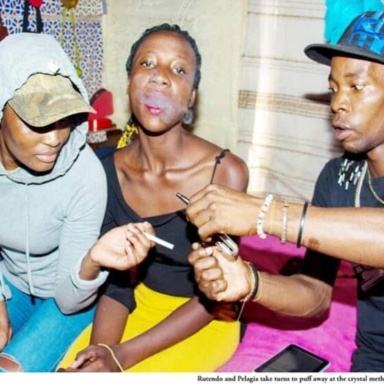 Crystal meth drug destroys urban youth Zimbabwe